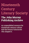 Nineteenth Century Literary Society: The John Murray Publishing Archive