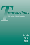 Transactions of the Institute of British Geographers