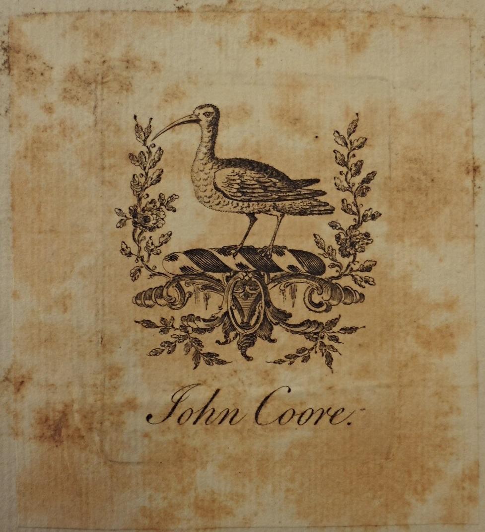 John Coore's Ex Libris
