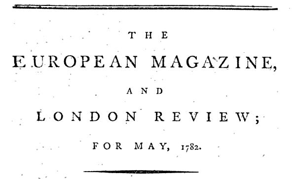 European Magazine
