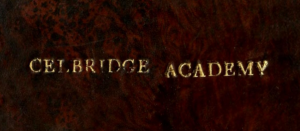 Impression of Celbridge Academy on back cover.