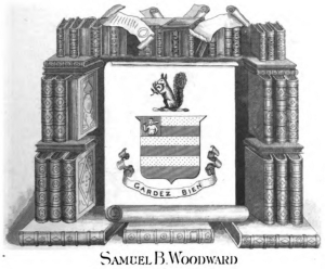Ex Libris of Samuel Bayard Woodward.