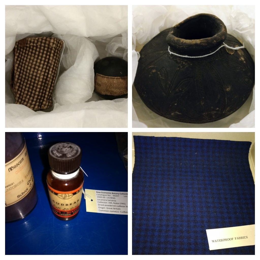 Items in the Kew Economic Botany Collection relating to George and Charles Macintosh.